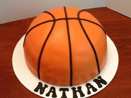 Gâteau ballon de basketball - Recette de cuisine Marmiton : une recette