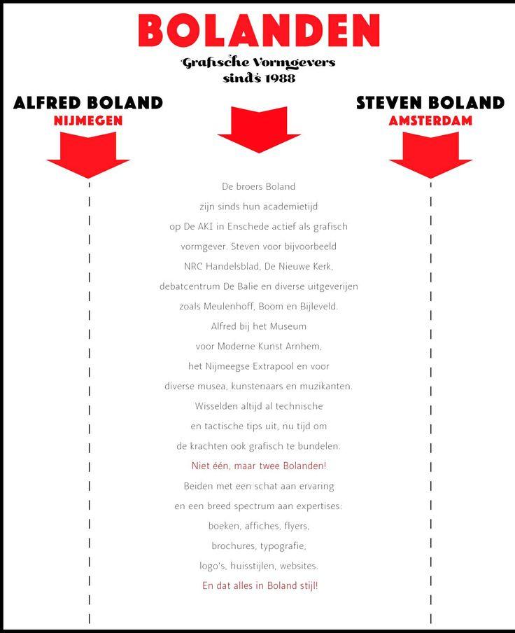 The website 'bolanden.nl'