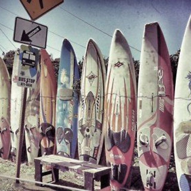Boards of fun!: Surfboard Fence