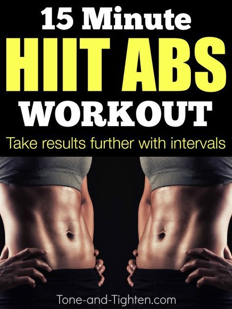 how to get defined abs workout
