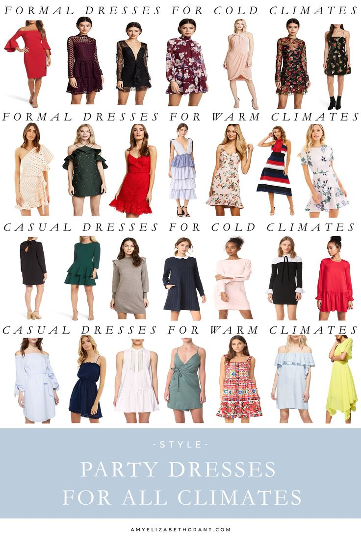 Party Dresses for All Climates  Winter party dresses  Christmas dresses  Long sleeve dresses