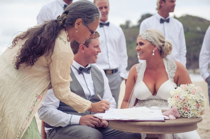 Sarah and Dano's Wedding Cabarita Beach Northern NSW