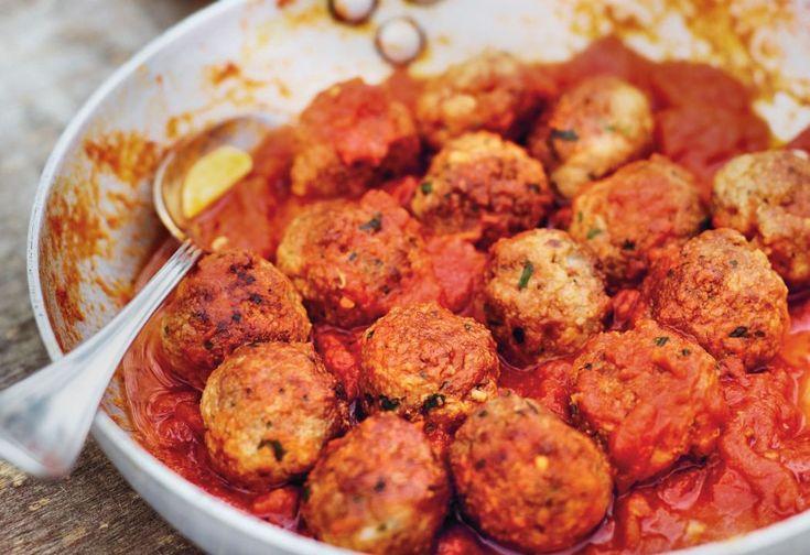 Polpette al Pomodoro – kødboller i tomat