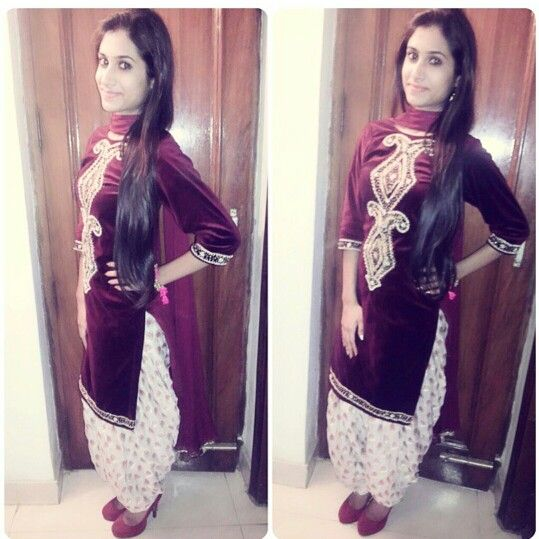 Red Punjabi Suit