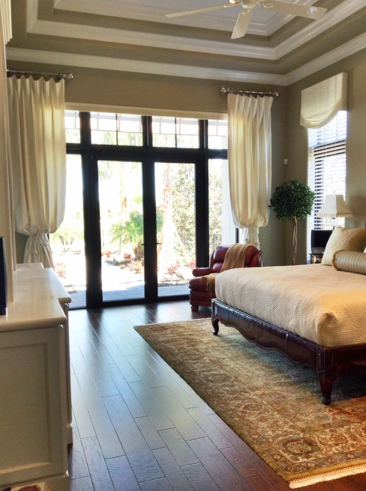 Master Bedroom Window Treatments | The House I Build ...