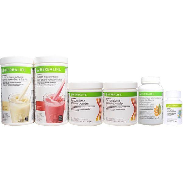 Découvrez votre Pack Prise de poids Advanced Herbalife pour prendre du poids et augmenter votre masse musculaire au meilleur prix !