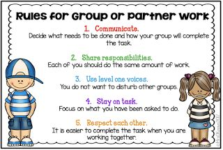 Group Work Rules Printable - Mrs. O Knows
