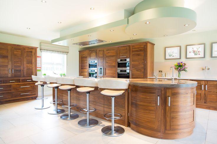A stunning bespoke kitchen