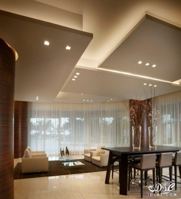 ديكورات جبس مودرن 2019 بورد غرف نوم مجالس صالونات اسقف وحوائط معلقة ديكورات جبسية لشقق رائعه Ceiling Design Modern False Ceiling Design Living Room Ceiling