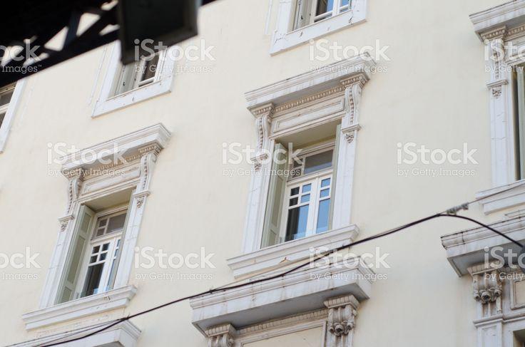 backstreet athens greece royalty-free stock photo