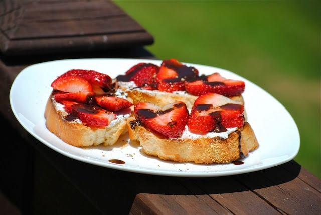 Bakeaway with Me: FFWD ~ Strawberry Tartine and Chocolate Balsamic ...