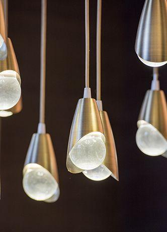 CONCEPT LIGHTING   The Temple House   AvroKo   A Design and Concept Firm   www.bocadolobo.com/ #lightingideas #lighting