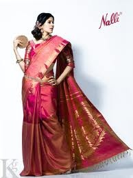 Nalli's silk ..for the bride