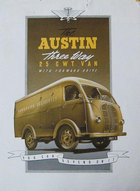1947 Austin K8 25CWT 3 Way Van