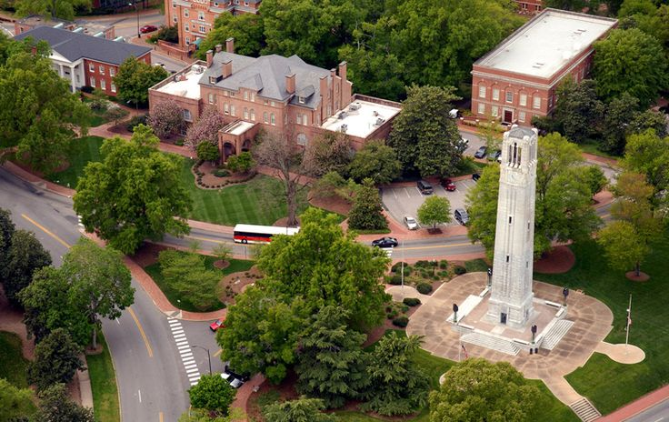 NC State University, in Raleigh, is one of several universities in our state.