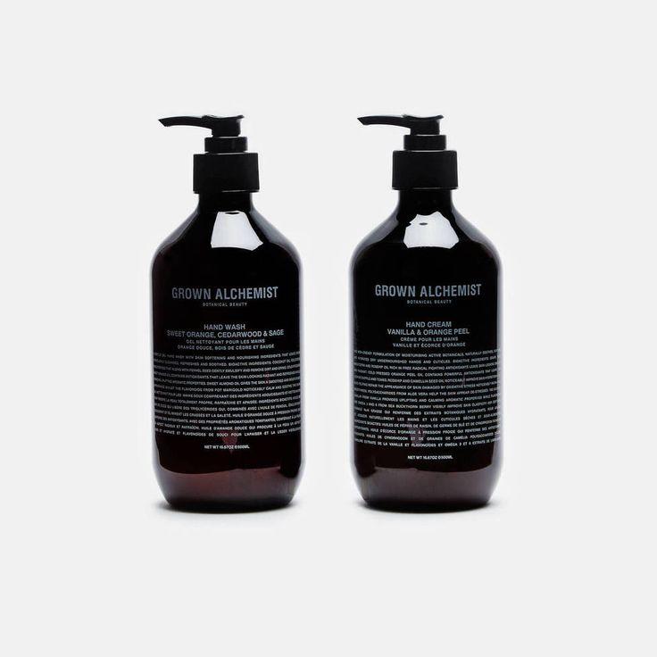 Grown Alchemist — Handwash & Hand Cream Twin Set (500 Ml) — THE LINE
