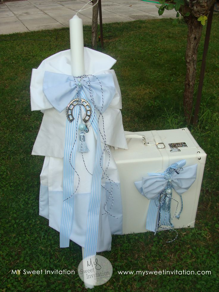 Little #Sailor #Orthodox #Christening #Candle #Suitcase creation