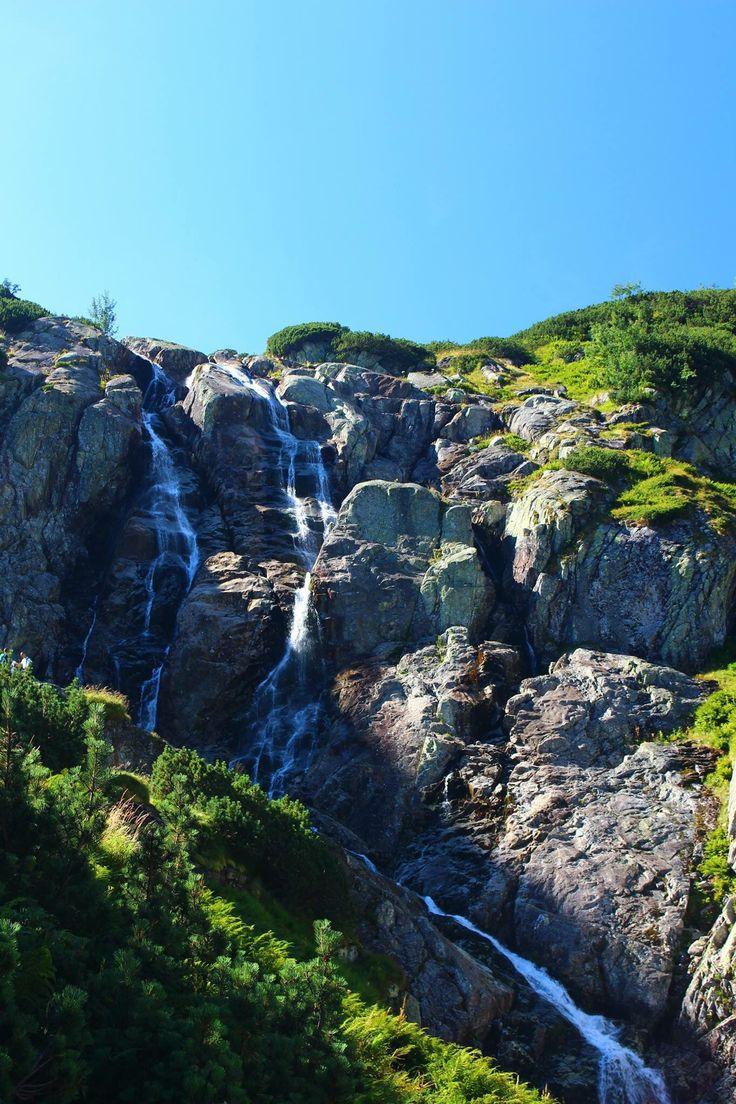 Waterfall Tatry , Poland