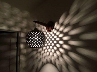 ceramic lamp by Heather Levine