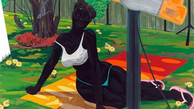 For centuries black people appeared in art as slaves or exotic novelties – and now the painter Kerry James Marshall wants to challenge these racist ideas.