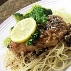 """Chicken Piccata with Angel Hair Pasta I """"I made this for dinner today, and it was fantastic! I love TGI Friday's Chicken Piccata so I was looking for a similar recipe and came across this one, and I'm so glad I did!"""""""