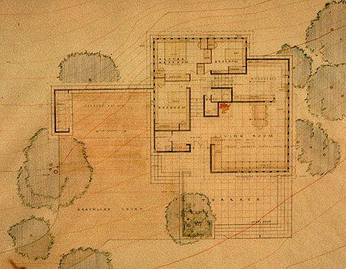 339 best frank lloyd wright et al images on pinterest for Usonian style house plans
