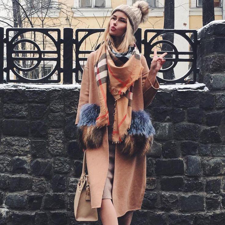 """«Ждём всех завтра на потрясающую новую коллекцию очень много шерстяных и кашемировых пальто с меховыми карманами ,всеми любимые платья """"лапша"""" ,…»"""