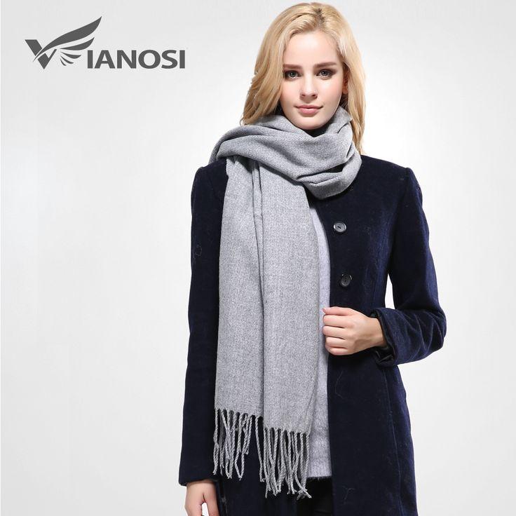 新しい高級スカーフ冬の女性のスカーフ女性の綿固体スカーフ最高品質パシュミナスタジオタッセル女性ラップVS073
