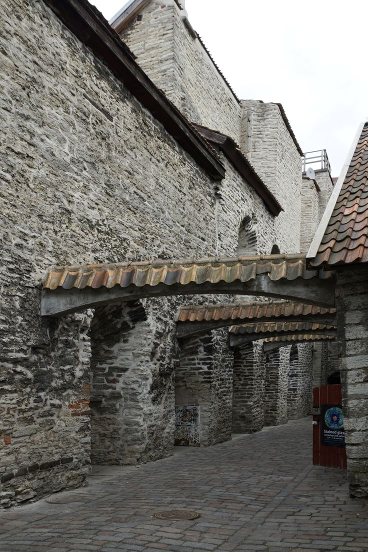Zabytkowa część Tallina. Estonia. Fot. Jan Gołąb