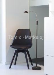 Lampa podłogowa FENIX LED - czarna (105227) - Markslojd