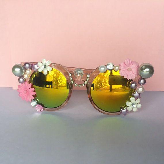 Embellished Festival Sunglasses