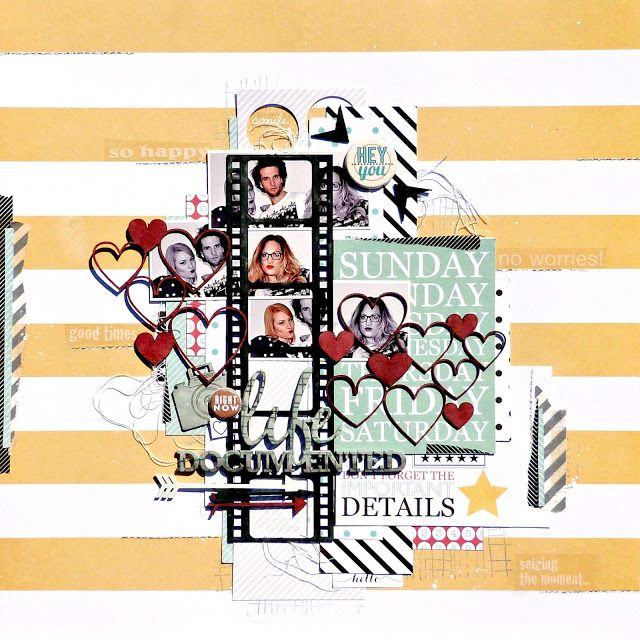 2Crafty - September Layout Shares With Tracee