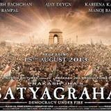 Satyagraha est un thriller politique réalisé par Prakash Jha. Le film mettra en scène Amitabh Bachchan, Ajay Devgn, Kareena Kapoor, Arjun Rampal, Manoj Bajpai et Amrita Rao dans les rôles principaux.    Kareena Kapoor jouera le rôle d'une journaliste international. Des situations actuelles ont inspirées Prakash Jha à faire le film Satyagraha.    Le film est prévu pour le 23 août 2013.