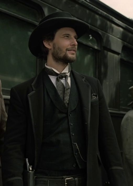 "allhailbenbarnes: """"Ben Barnes as Logan in HBO's Westworld. "" """