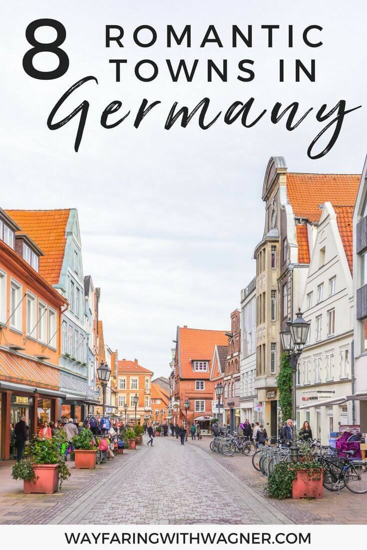 Explore the most romantic towns in Germany through this list of adorable and quaint towns! #EuropeTravel #RomanticTowns #Germany