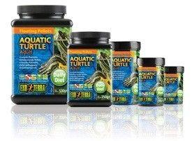 Alimento Tortuga Acuatica Adulta EXOTERRA es una dieta nutritiva enriquecida con gránulos de gamba Gammarus, minerales, multivitaminas.