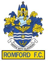 1876, Romford F.C. (England) #RomfordFC #England #UnitedKingdom (L16842)