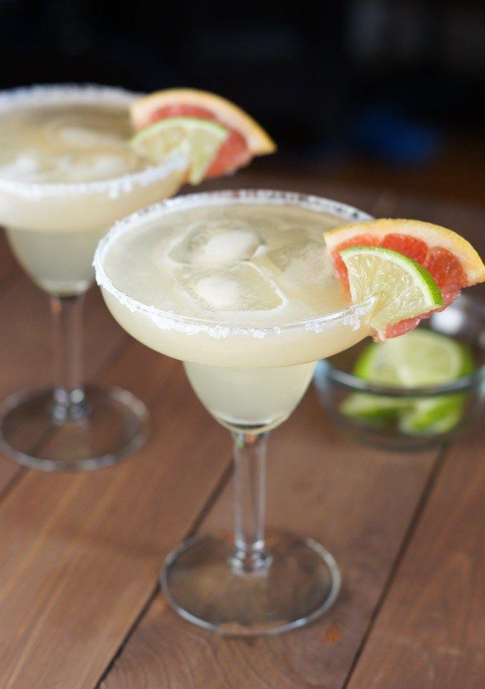 Grapefruit Lime Margarita Recipe   Best Margarita Recipes