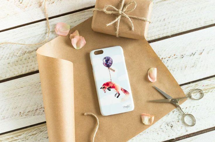 Far, Far Away Fox iPhone case : by The Dairy