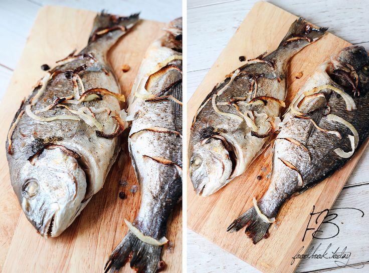 Дорадо, запеченная в духовке   Food Book