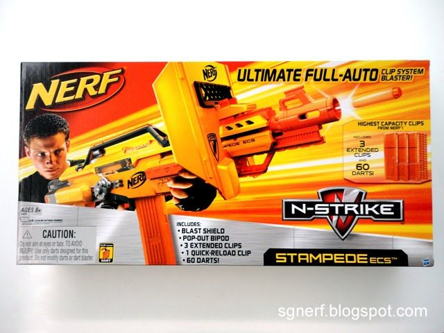 SG Nerf: Nerf Stampede ECS - Review!