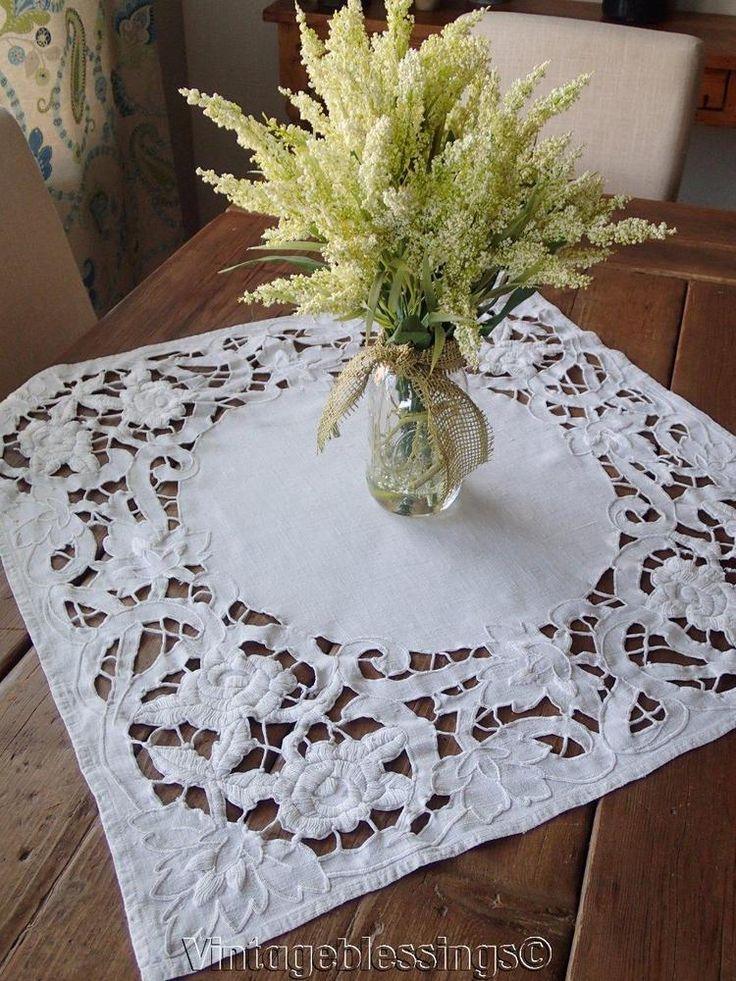 2592 Best Fine Antique Lace Amp Linens For Sale Images On