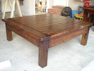 A Touch of Arkansas: Big Coffee Table & End Tables