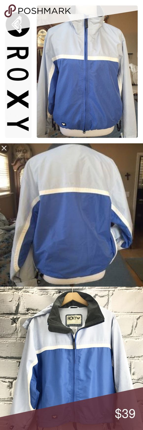 "💕SALE💕Ricky X Series Blue White Snowboard Jacket Fabulous 💕Ricky X Series Blue White Snowboard Jacket 25"" from the top of the shoulder to the bottom 22"" from armpit to armpit Roxy Jackets & Coats"