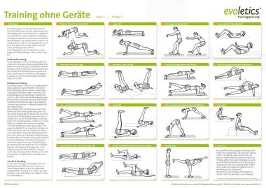 training ohne ger te sport poster sport pinterest. Black Bedroom Furniture Sets. Home Design Ideas