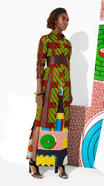 African fashion. Love all of the patterns