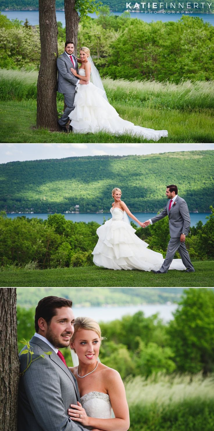 Bride & Groom at their spring Bristol Harbour Resort wedding  in Canandaigua, NY. Photos by Katie Finnerty Photography | http://www.katiefinnertyphotography.com/blog/2016.6.15.bristol-harbour-resort-wedding-emily-stephen