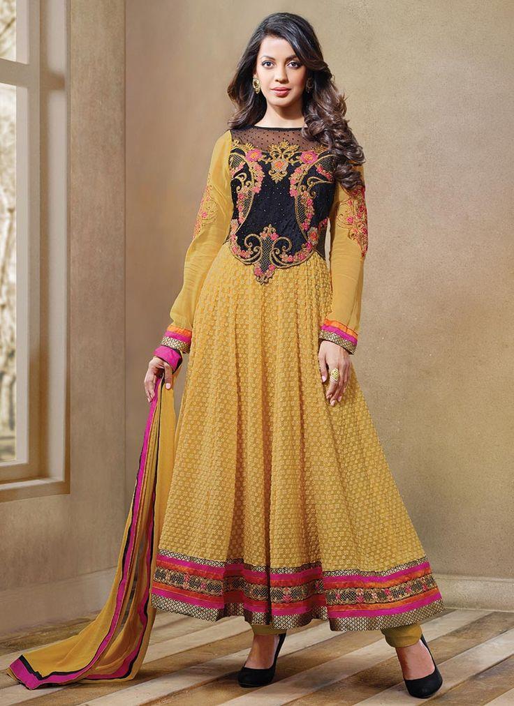 Fab Mugdha Godse Anarkali Suit