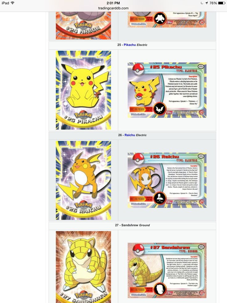 Pin by michael sperduti on pokemon topps cards pikachu