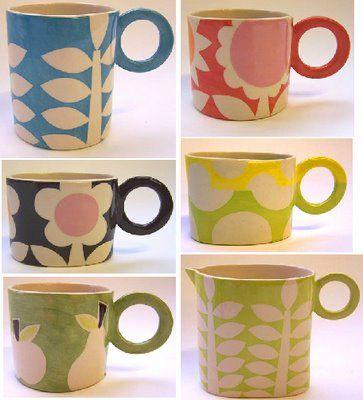 Ken Eardley ceramics. So pretty.